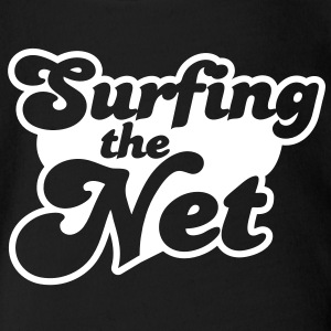 Surfing the Net Baby Bodysuits - Short Sleeve Baby Bodysuit