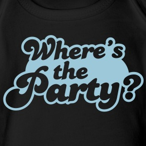 Where's the Party? Baby Bodysuits - Short Sleeve Baby Bodysuit