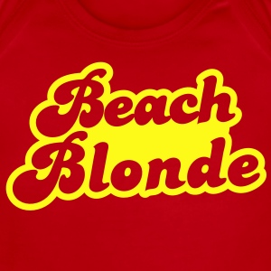 beach blonde  Baby Bodysuits - Short Sleeve Baby Bodysuit