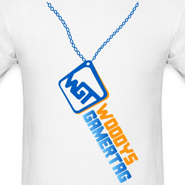 Mens Tee : WGT Bling (blue)