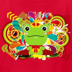 The frog which did not fit a prince - Kids' T-Shirt
