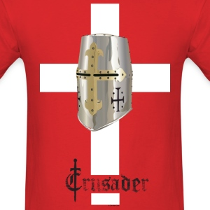 Crusader White on Color Standard T - Men's T-Shirt