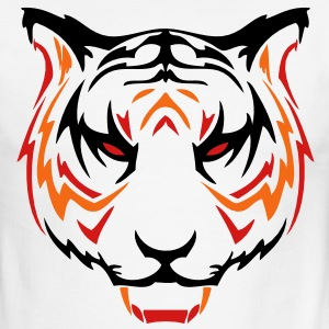 tiger head 05 T-Shirts - Men's Ringer T-Shirt