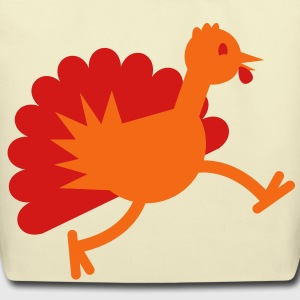 TURKEY BID RUNNING thanksgiving Bags  - Eco-Friendly Cotton Tote
