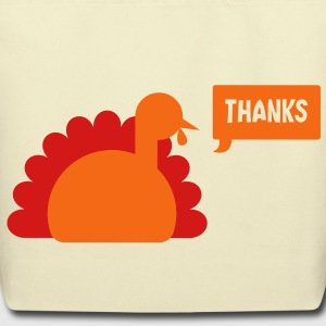 TURKEY THANKS  Bags  - Eco-Friendly Cotton Tote