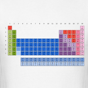 Periodic Table of Elements T-Shirts - Men's T-Shirt