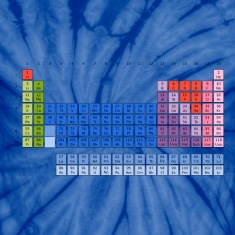 Periodic Table of Elements T-Shirts