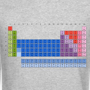 Periodic Table of Elements Long Sleeve Shirts - Crewneck Sweatshirt