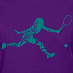 Tennis female Women's T-Shirts