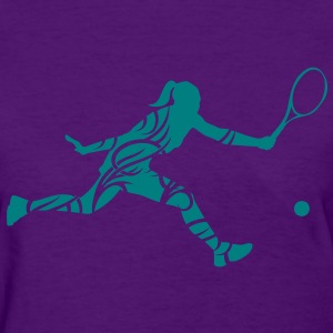 Tennis female Women's T-Shirts - Women's T-Shirt