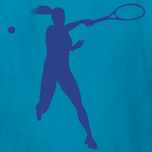 Tennis female Kids' Shirts - Kids' T-Shirt