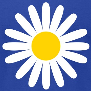 Daisy flower T-Shirts - Men's T-Shirt by American Apparel