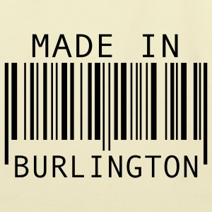 Made in Burlington Bags  - Eco-Friendly Cotton Tote