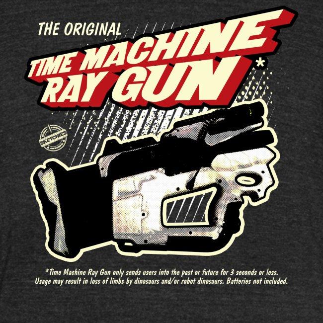 Time Machine Ray Gun Vintage