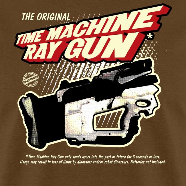 Time Machine Ray Gun Mens T