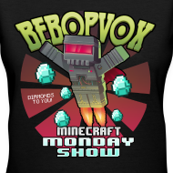 Design ~ Womans V-Neck Shirt - The Minecraft Monday Show