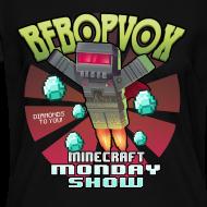 Design ~ Womans V-Neck Shirt - The Minecraft Monday Show