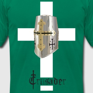 Crusader T for Todd - Men's T-Shirt by American Apparel