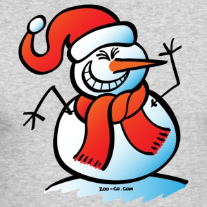 Naughty Snowman Long Sleeve Shirts - Men's Long Sleeve T-Shirt by Next Level