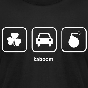 Kaboom - Irish Car Bomb (Black) - Men's T-Shirt by American Apparel