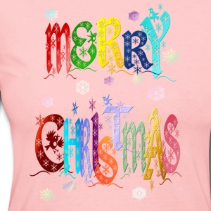 A Very Colorful Merry Christmas - Women's Long Sleeve Jersey T-Shirt