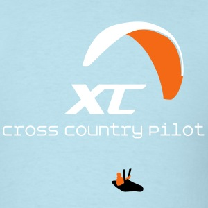 Paraglider Cross Country T-Shirts - Men's T-Shirt