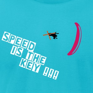 Speedglider - Speedrider T-Shirts - Men's T-Shirt by American Apparel