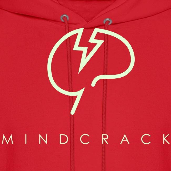 Men's Glow-in-the-dark Mindcrack logo Hoody