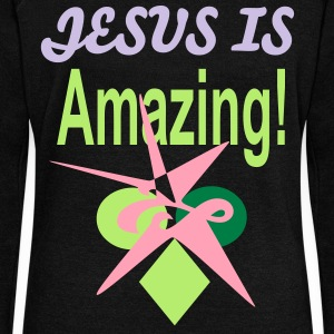 JESUS IS AMAZING - Women's Wideneck Sweatshirt