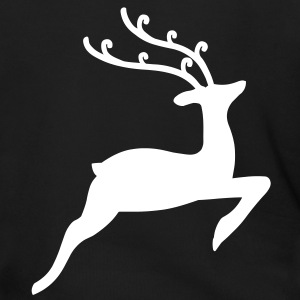 Christmas Reindeer Zip Hoodies/Jackets - Men's Zip Hoodie