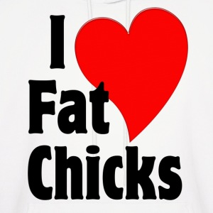 I Love Fat Chicks Hoodies - Men's Hoodie