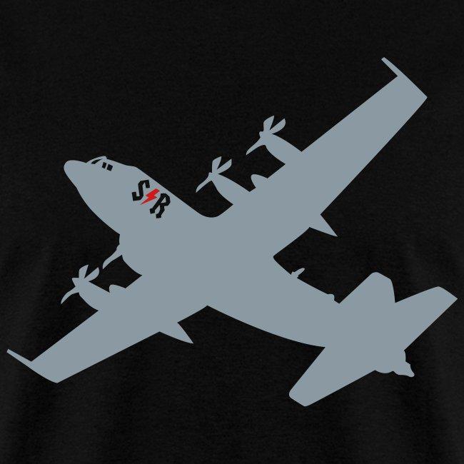 Large AC-130 Black