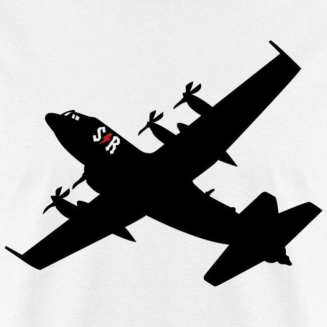 Large AC-130 White