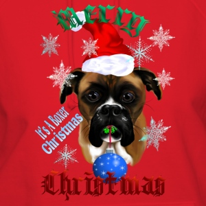 Wonderful Christmas Boxer Dog - Women's Hoodie