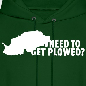 Need to get PLOWED? Hoodies - Men's Hoodie