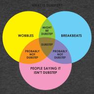 Design ~ THIS ISN'T DUBSTEP! (a Venn Diagram)   V-neck