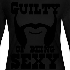 guilty of being sexy mutton chops Long Sleeve Shirts - Women's Long Sleeve Jersey T-Shirt