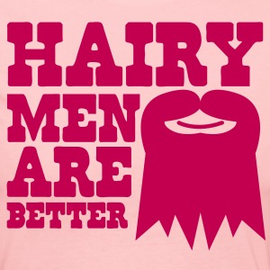 HAIRY MEN ARE BETTER Long Sleeve Shirts - Women's Long Sleeve Jersey T-Shirt