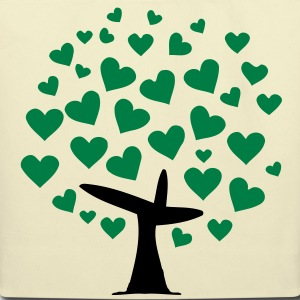 tree of heart Bags  - Eco-Friendly Cotton Tote