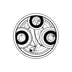 Time Symbol Doctor Who