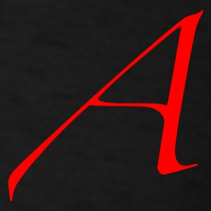 Scarlet Letter  Standard Weight Tee - Men's T-Shirt