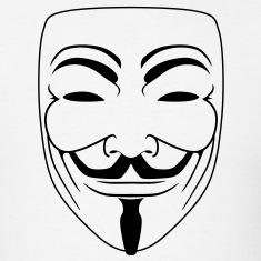 Anonymous Guy Fawks Mask _v2 Vector 1_Color