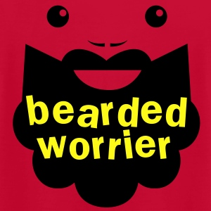 BEARDED WORRIER T-Shirts - Men's T-Shirt by American Apparel