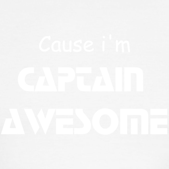"Captain Awesome ""AWESOME SHIRT"""