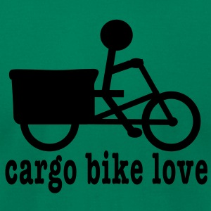 Madsen Cargo Bike Love - Men's T-Shirt by American Apparel