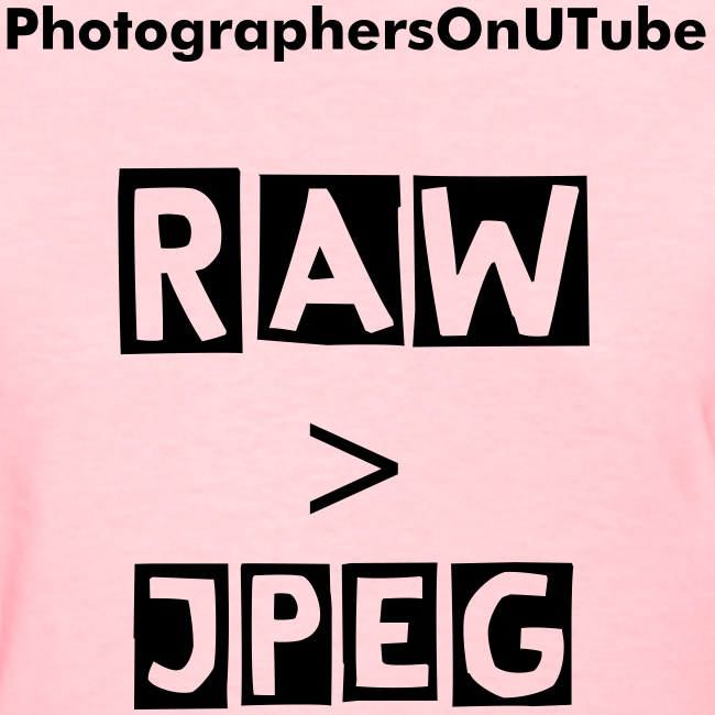 Women's RAW  JPEG