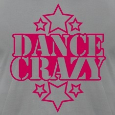 DANCE CRAZY with stars T-Shirts