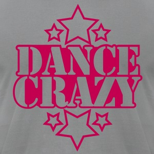 DANCE CRAZY with stars T-Shirts - Men's T-Shirt by American Apparel