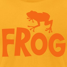frog typo with cute little froggy T-Shirts