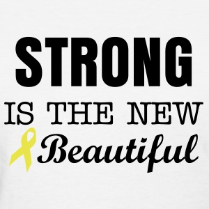 Strong is the new beautiful  - Women's T-Shirt